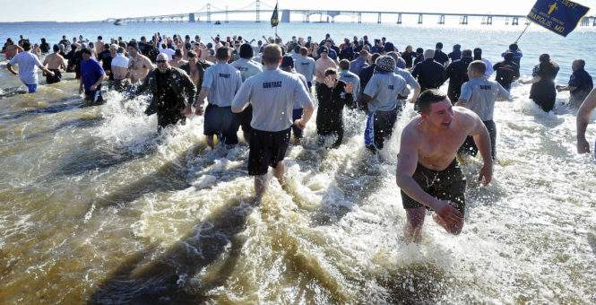 DCS Supports The Maryland State Police Polar Bear Plunge