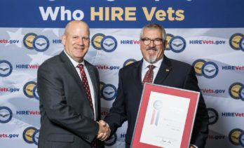DCS Data Centers Recognized for Veteran Hires